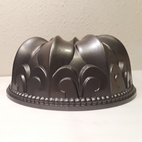 Nordic Ware Other - 👹SOLD👹Nordic Ware Fleur De Lis Bundt Cake Pan